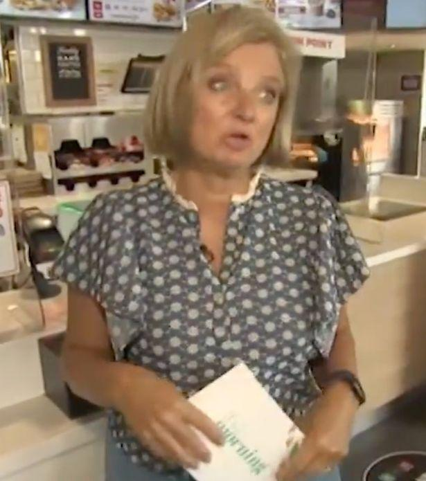 News Shopper: Alice Beer appeared in KFC when she revealed the loophole (Image: ITV)