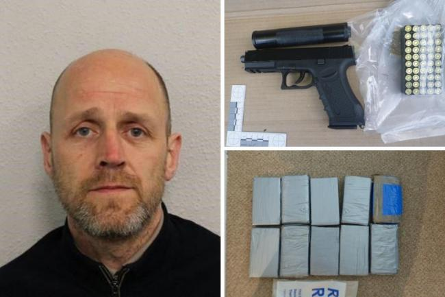 11kgs of cocaine were found in Hall's Mottingham property
