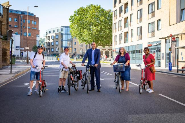 David Madden Photography - Greenwich Council and Transport for London have announced a new cycleway as part of their streetspace plans post Covid-19.