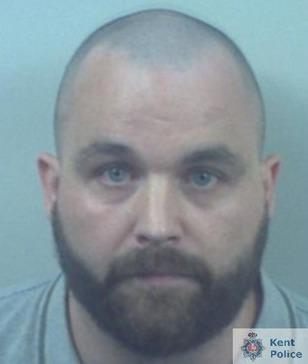 James Jewell from Dorchester, who was jailed for life on August 13. Image via Kent Police