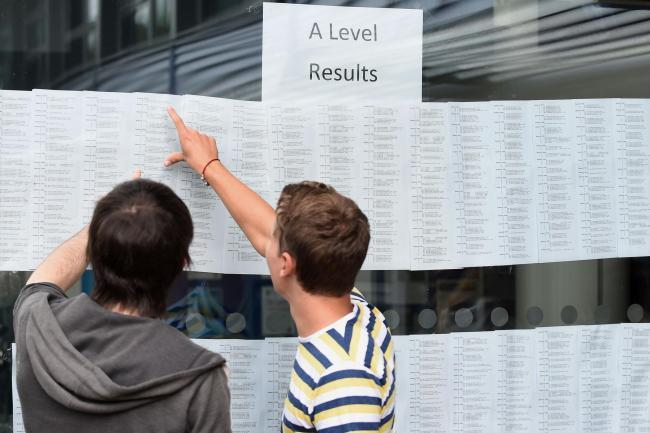 A-level results came out last week