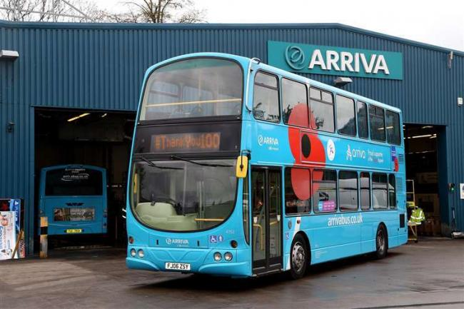 Arriva have been criticsed by Unite over its response to multiple drivers testing positive for Covid-19 at its Northfleet depot