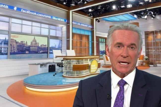 ITV's Dr Hilary Jones has hit out at a viewer that claimed coronavirus was 'just the flu'