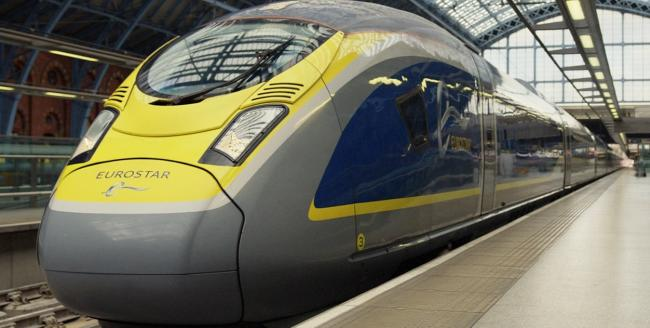 Via Eurostar. No international trains will run via Kent until 2022, which the Dartford MP says is 'deeply concerning'
