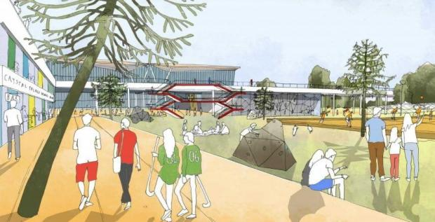 News Shopper: The festival could be the latest boost for the park - with a major planning application for work, including a new 'hub' at the park's National Sport Centre (pictured), also submitted earlier this year.
