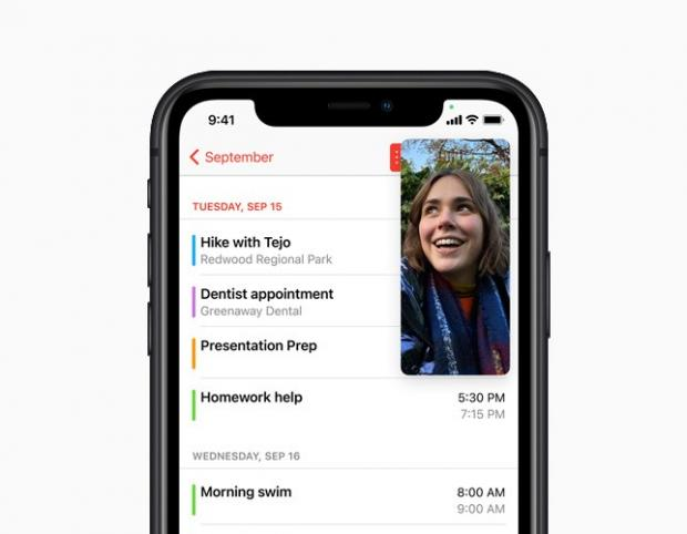News Shopper: With Picture-in-Picture, users can watch a video or take a FaceTime call while using another app. Picture: Apple