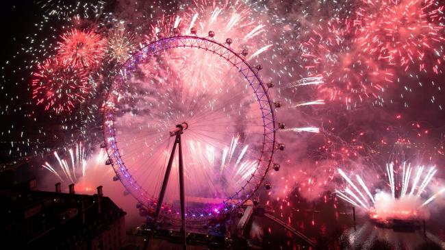 London's New Year's Eve fireworks display cancelled (What will be on TV instead?). Picture: PA Wire