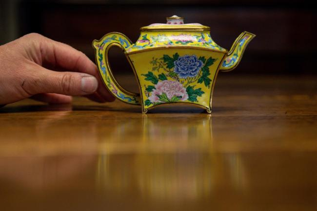 Imperial Chinese Teapot sale