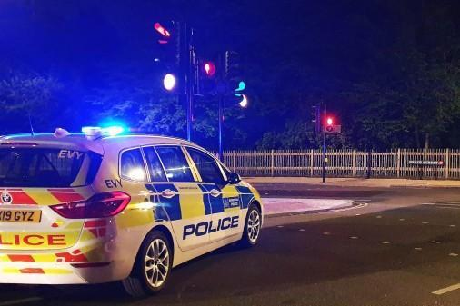 Met Police shut down the wedding on Old Kent Road, south east London