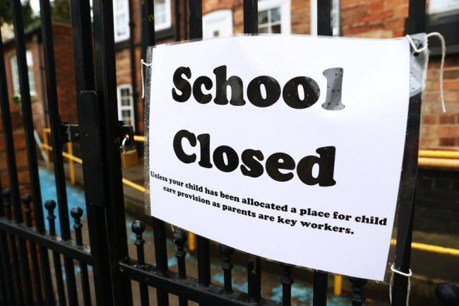 Image result for uk school shut down covid
