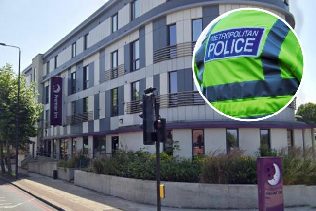 Police were called to a fight in Eltham on Sunday