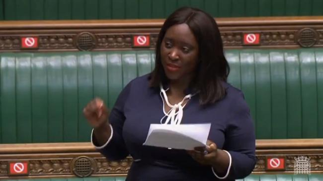 Abena Oppong-Asare, Labour MP for Erith and Thamesmead, speaking in Parliament in a debate marking Black History Month