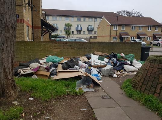 The council is undertaking a review to tackle fly-tipping. Credit Elliot Quinn