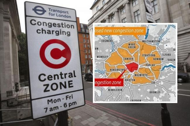 100,000 sign petition opposing extension of congestion charge to SE London