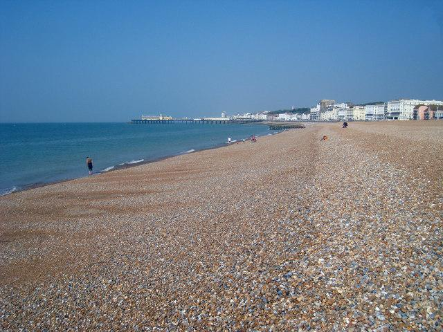 Hastings beach (Credit - Oast House Archive )