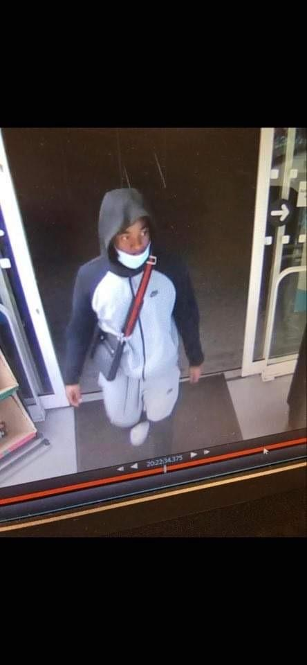 CCTV still released by Bexley Met Police Service following a robbery in Westborne Avenue, SE9