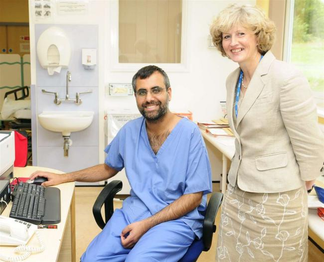 Dr Jagdip Sidhu, a leading consultant at Darent Valley Hospital until he took his own life.