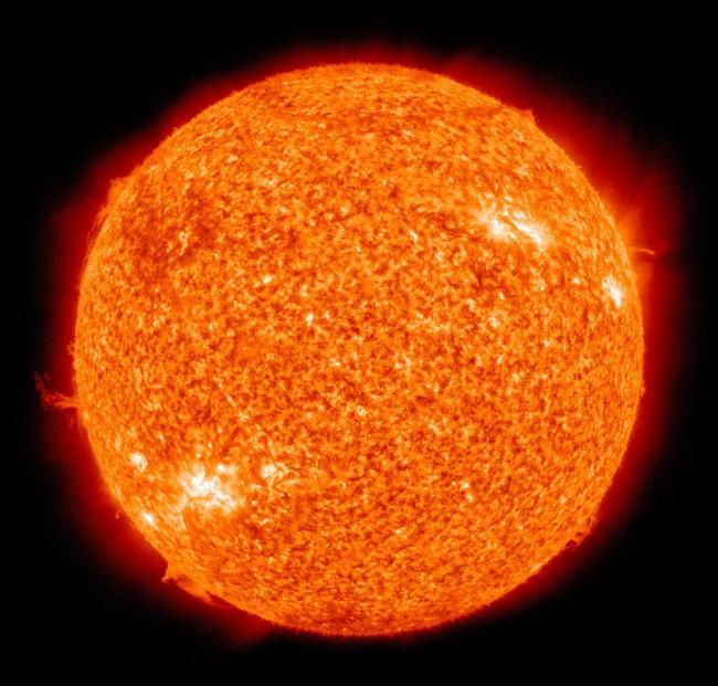 Nuclear fusion, which takes place at the core of the Sun (by Pixabay)