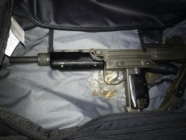 News Shopper: Gun found in the bag with a silencer and ammunition.