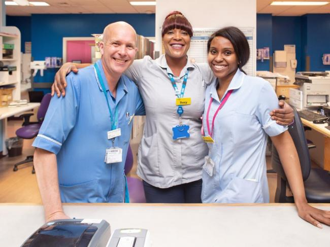 Lewisham and Greenwich NHS Trust - shortlisted by the HSJ