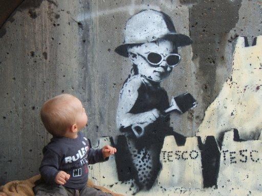 News Shopper: The mural with Hastings toddler Nathan Williams