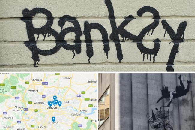 MAPPED: All of the places in the UK you can see a piece of Banksy street art