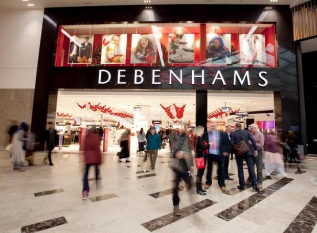 News Shopper: Debenhams is preparing its last ever Christmas blow-out