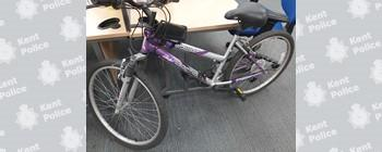 This mountain bike was stolen outside an Aldi in Dartford on Monday - Kent Police