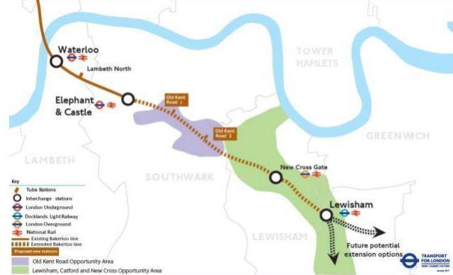 Bakerloo line extension plans