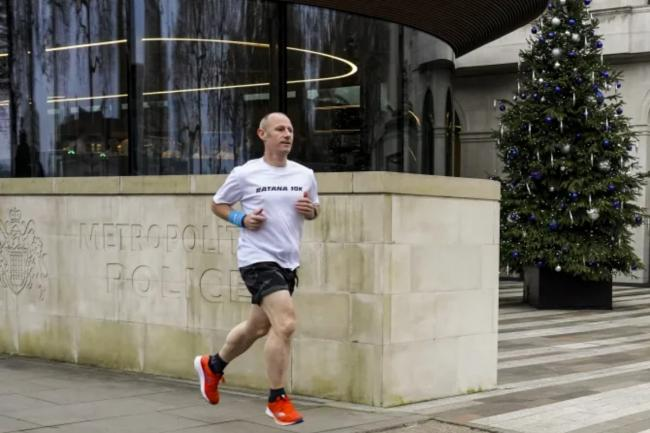 Lewisham Police's Sgt Paul Hollis started the 10K fundraiser in the wake of Matt Ratana's death. Image: Met Police