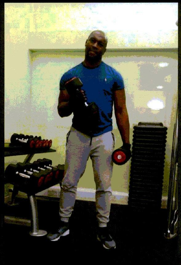 News Shopper: Richard Charles seen lifting weights in a picture on social media