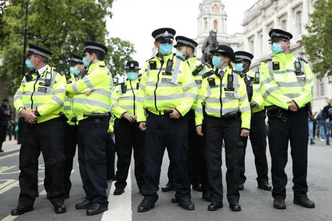 Met Police will be out in force across London to enforce the new third Covid-19 lockdown. PA Images