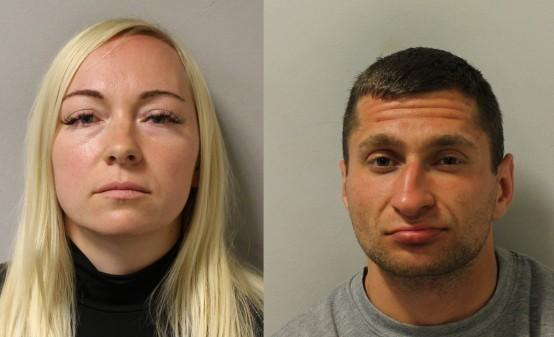 News Shopper: Asta Juskauskiene and Mantas Kvedaras. Images: Met Police