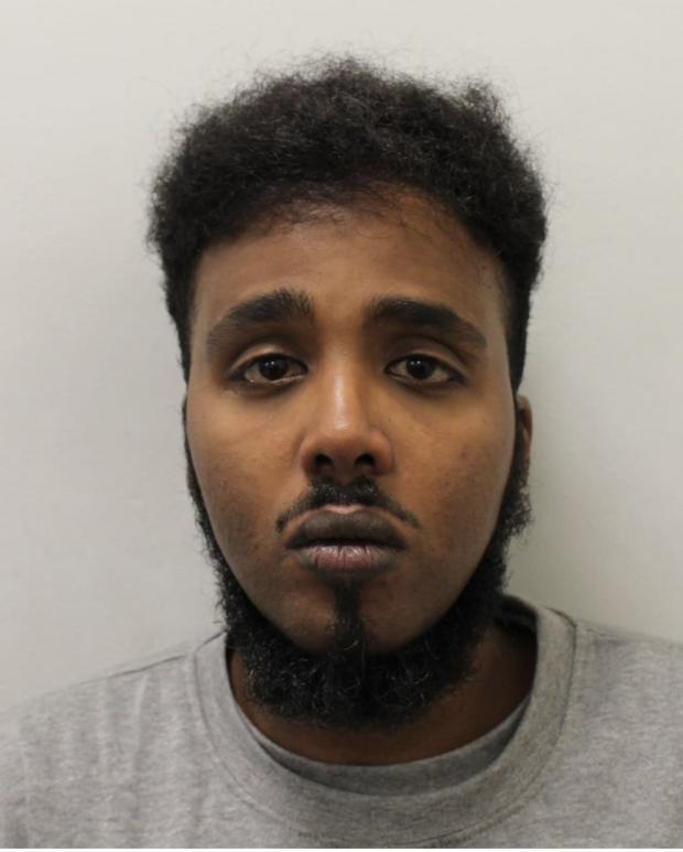 News Shopper: Yasin Omar Amare. Image: Met Police