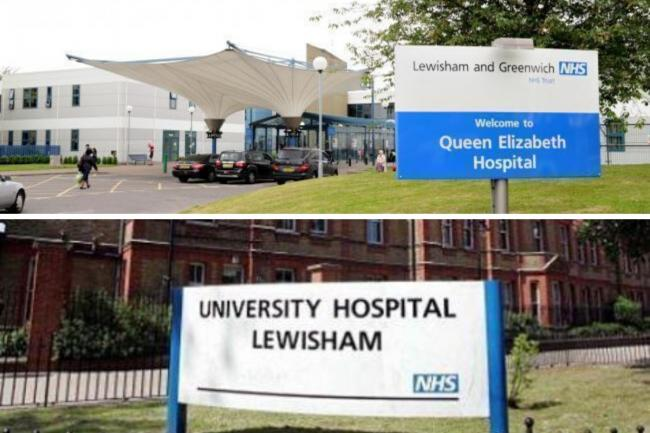 Queen Elizabeth and Lewisham Hospital are currently overwhelmed with Covid-19 patients.