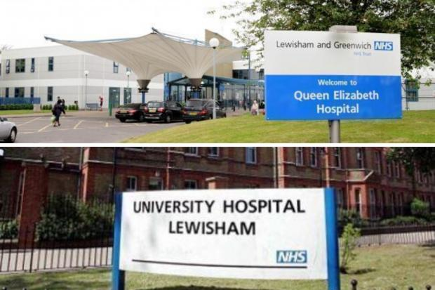 News Shopper: Queen Elizabeth and Lewisham Hospital are currently overwhelmed with Covid-19 patients.