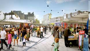 WOOLWICH: Town centre development moves to next stage