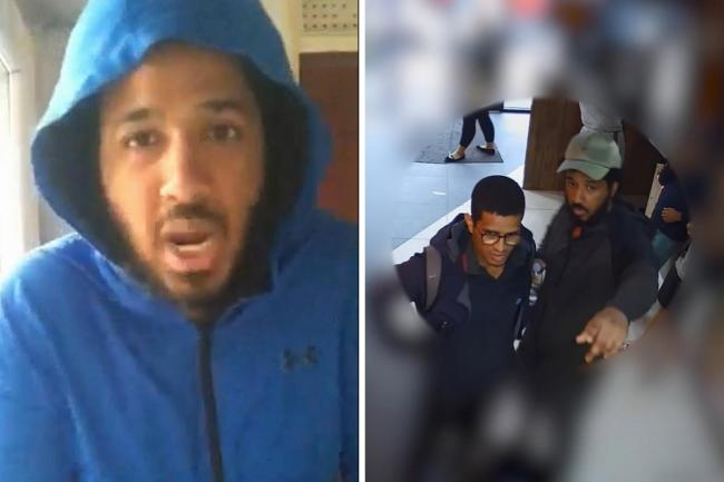 Sahayb Abu, 27, in one of a series of homemade videos he sent to his 32-year-old brother Muhamed Abu on June 30 last year, which has been shown at the Old Bailey, London, during the trial of the south east London brothers. Met Police