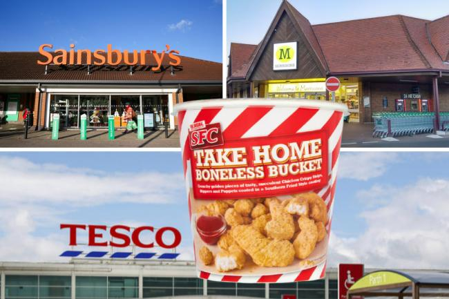 Tesco, Sainsbury's and Morrisons have issued a product recall due to a Salmonella risk