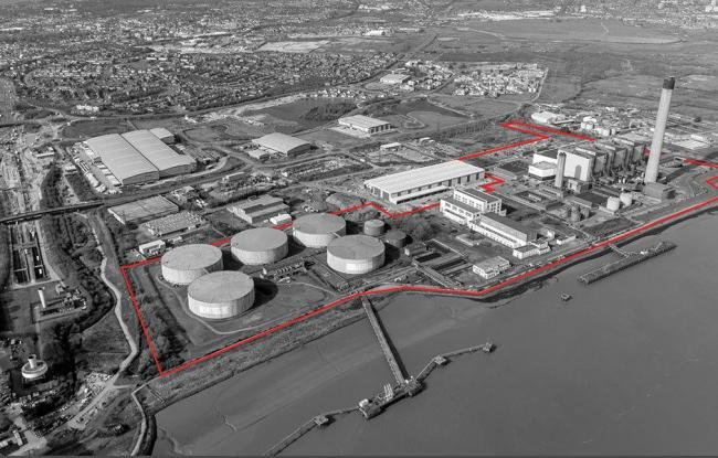 Amazon has plans for a £200m warehouse at the Littlebrook Power Station site near Dartford,