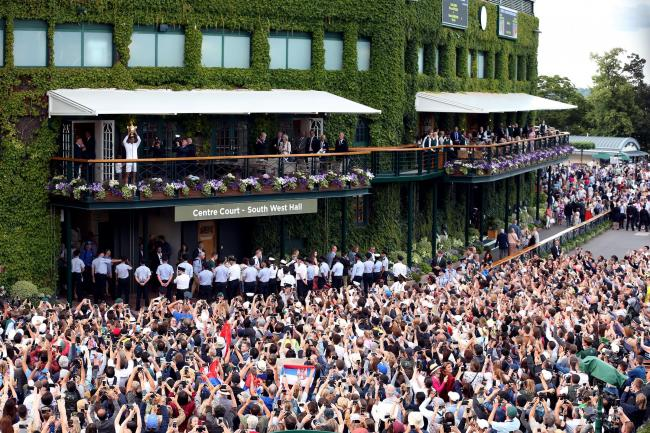 Wimbledon could play host to capacity crowds this summer