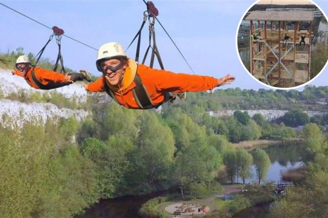Hangloose Adventure: The Skywire coming to Dartford's BLuewater in April