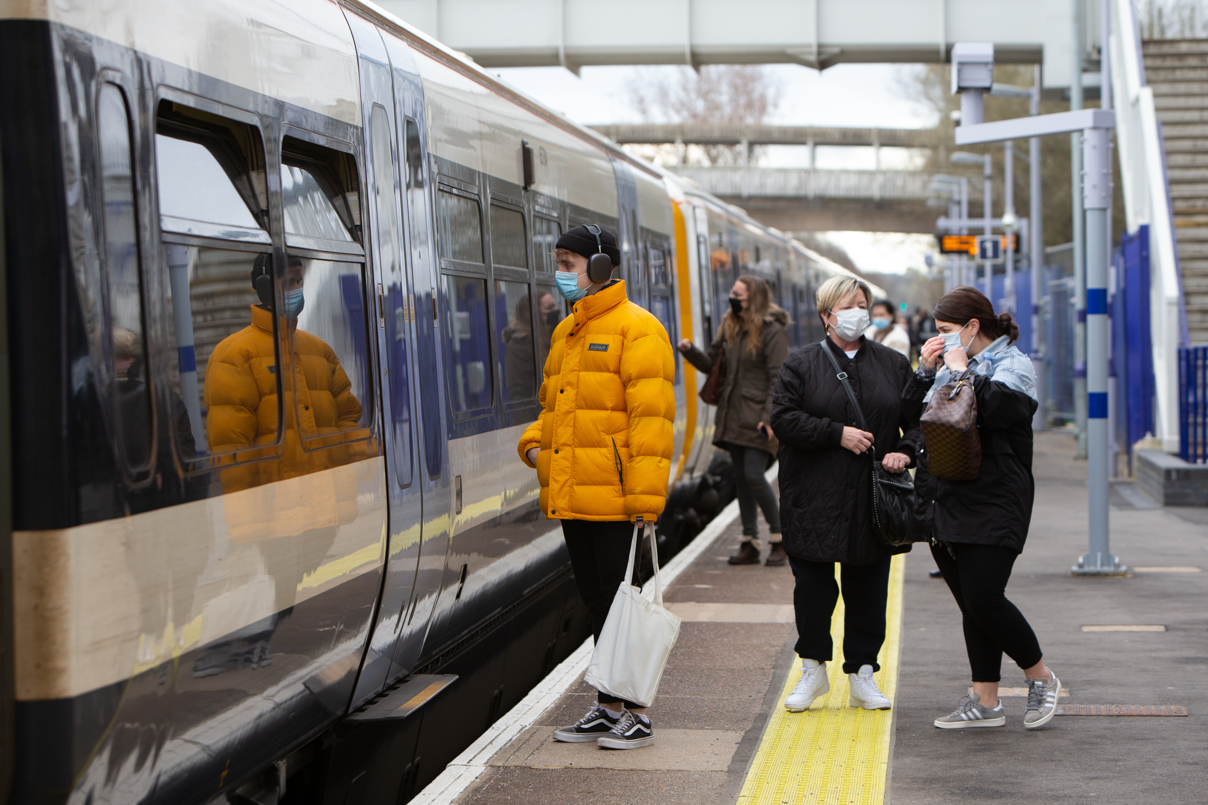 New Kidbrooke station in Greenwich opens to passengers. Picture: Andy Jones/Southeastern