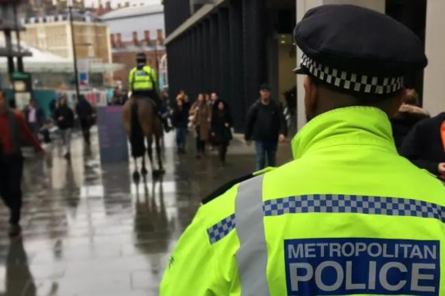 107 in total were arrested at the latest demonstration against the Police, Crime Sentencing and Courts Bill. Image: Met Police
