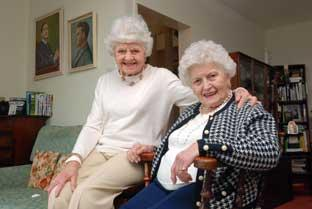 News Shopper: Lorna Mackenzie and her sister, Evelyn Driscoll-Crisp