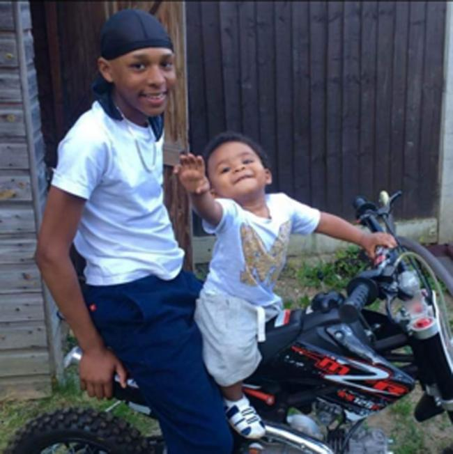 Levi Earnest-Morrison (left) who was stabbed to death in Sydenham, south-east London, on Saturday evening. Met Police