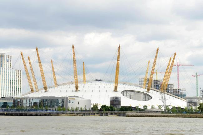The O2 Arena in Greenwich is to host the Government Event Trial