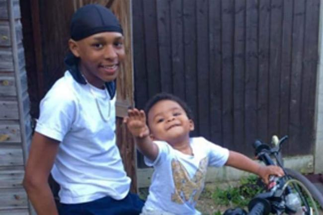 Levi Ernest-Morrison (left) who was stabbed to death in Sydenham / PA