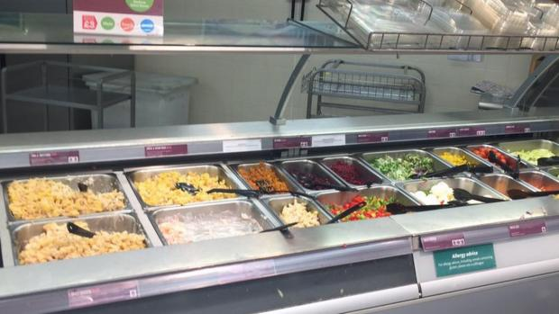 News Shopper: The salad bar at Morrisons has a cheese section