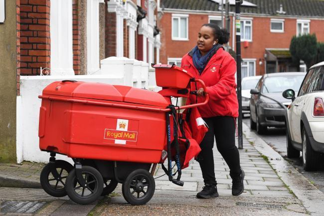 Royal Mail has issued an service update for the May bank holiday weekend